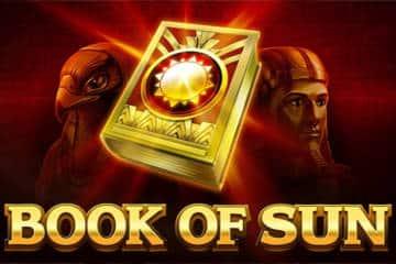 book of sun slot logo