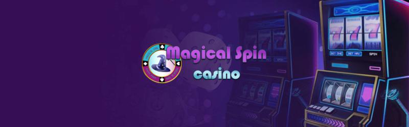 Magical spin casino bannière2021
