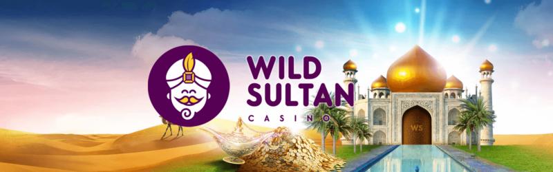 Bannière Wild Sultan Casino