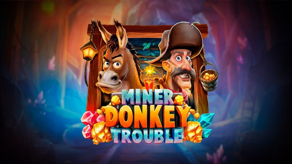 miner donkey trouble slot playngo 1