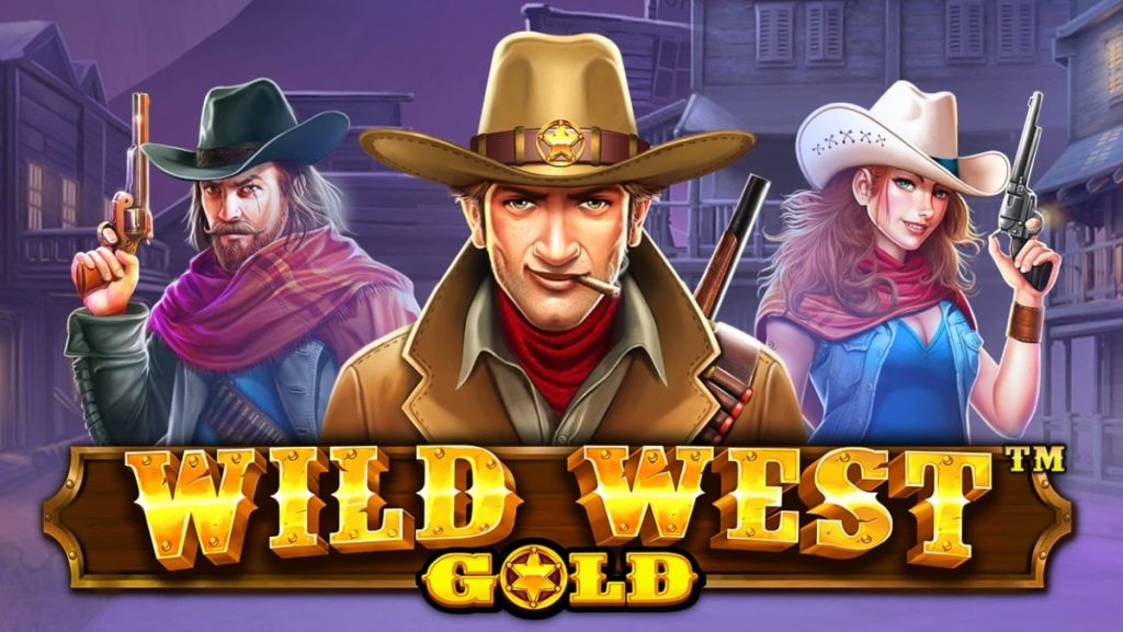 wild west gold banner
