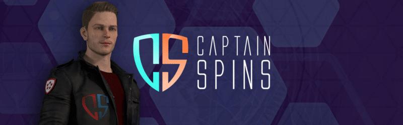 Bannière CaptainSpins Casino