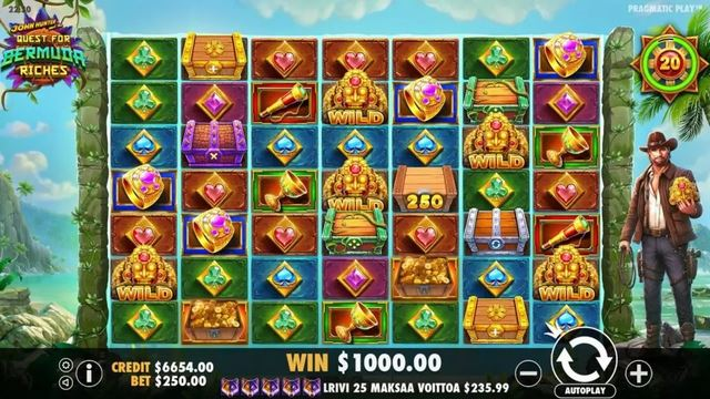 Quest for Bermuda Riches Gameplay
