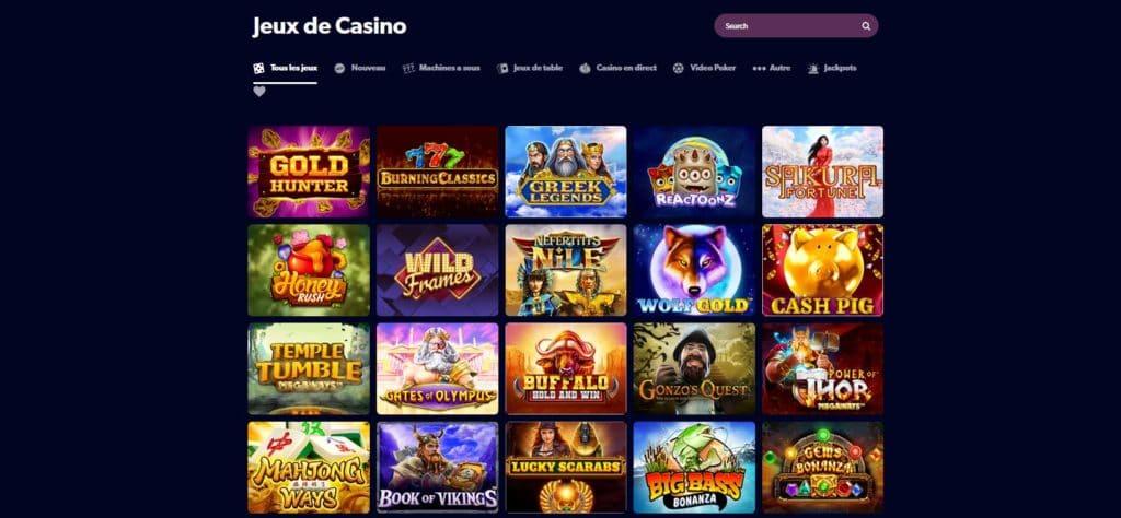 Jeux casino Kahuna